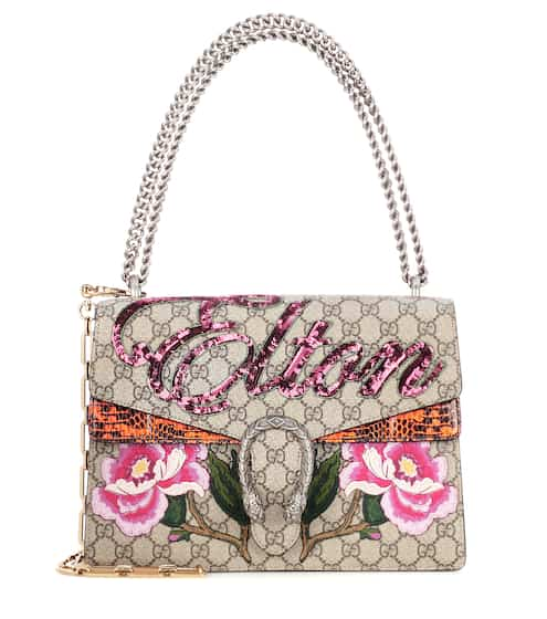 Gucci Dionysus medium canvas and snakeskin bag