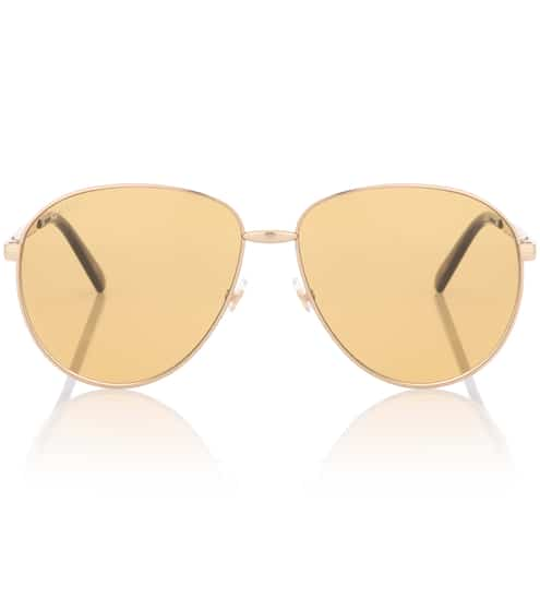 구찌 Gucci Aviator sunglasses
