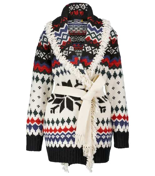 폴로 랄프로렌 Polo Ralph Lauren Jacquard wool-blend cardigan