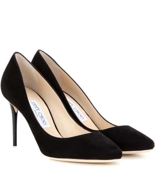 Cheap Discount Deals Pumps ROMY 60 calf-suede taupe Jimmy Choo London New Lower Prices vhPmVy