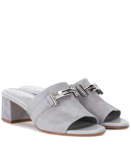6983b8367f8 Tod s Exclusive To Mytheresa.Com Suede Sandals