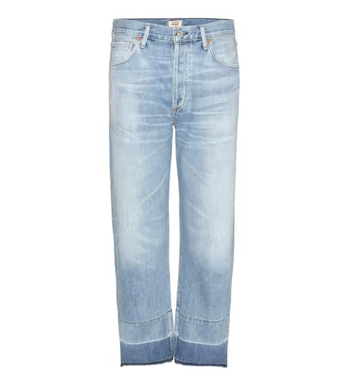 Citizens of Humanity High Rise Relaxed Crop Jeans Cora