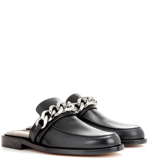 Givenchy Slippers aus Leder