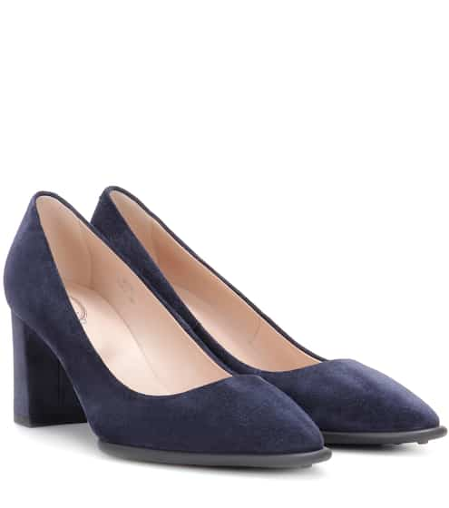 Tod's Pumps aus Veloursleder