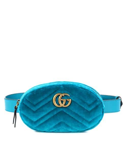 ad9e87a67b5f Gucci Marmont Velvet Belt Bag from mytheresa - Styhunt