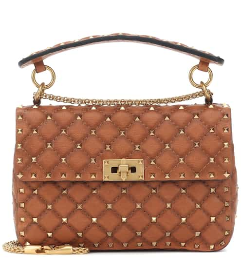 edb32ed612 Valentino Garavani Rockstud Spike Medium leather shoulder bag | Valentino