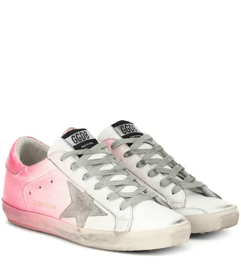 037c0d22a Superstar leather sneakers