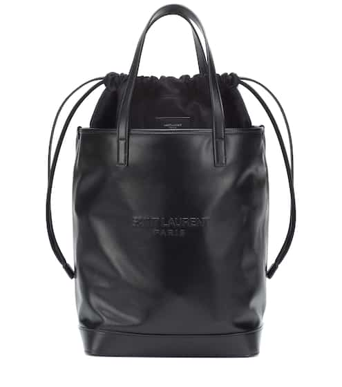 dfdef7e95a3527 Bucket-Bag Teddy aus Leder | Saint Laurent