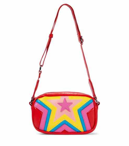 스텔라 맥카트니 키즈 숄더백 STELLA McCARTNEY Kids Star faux leather shoulder bag