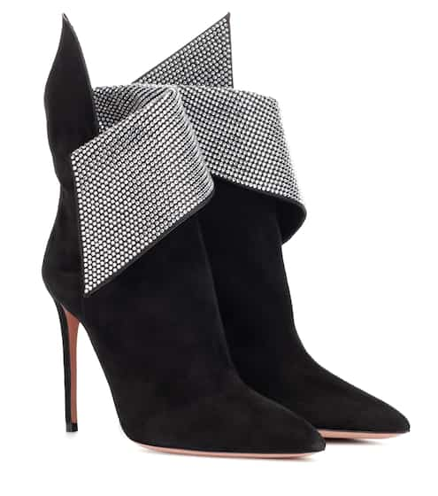 edbdb205031 Night Fever 105 suede ankle boots