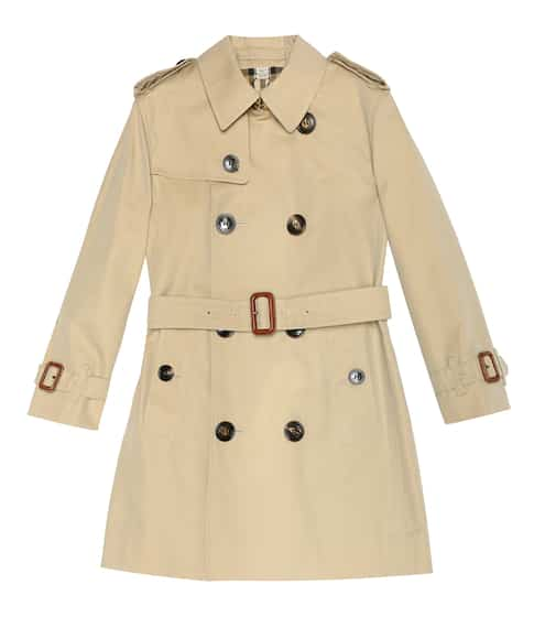 버버리 키즈 트렌치코트 Burberry Kids Cotton trench coat