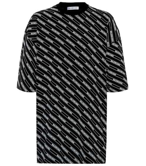 0d20c6ca0b8e1 Allover Logo cotton-jersey T-shirt