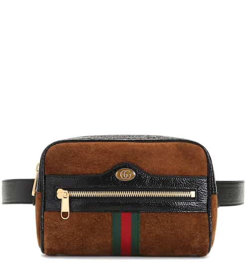 3a4fde3ed Gucci Ophidia Small Suede Belt Bag from mytheresa - Styhunt