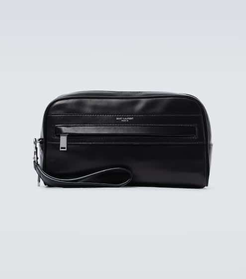 생 로랑 Saint Laurent Camp leather camera pouch