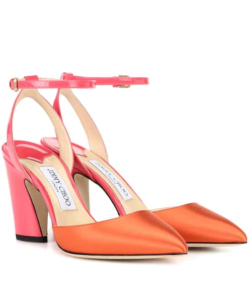 9fe781ce64c Jimmy Choo Cleo 85 Suede Sandals from mytheresa - Styhunt