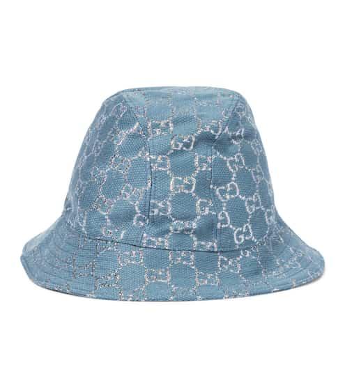 구찌 버킷햇 Gucci GG lame bucket hat
