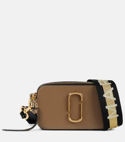 마크 제이콥스 스냅샷 카메라백 스몰 - 프렌치 그레이 Marc Jacobs Snapshot Small leather crossbody bag