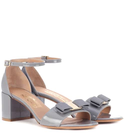 Sandales en cuir verni Gavina | Salvatore Ferragamo
