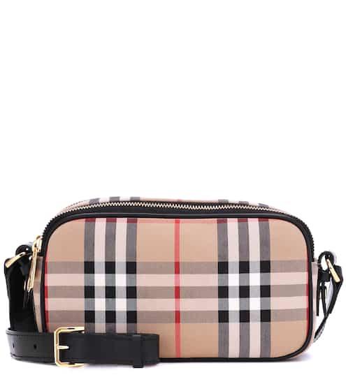 버버리 Burberry Camera Micro Vintage Check belt bag