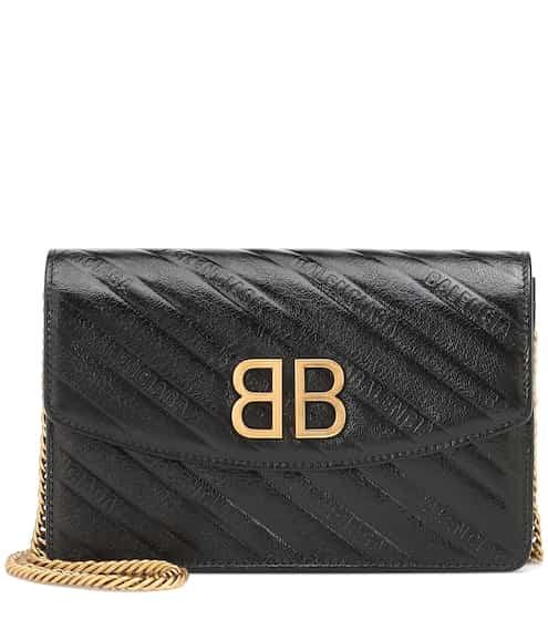 015e3ef6c6 BB Chain leather shoulder bag | Balenciaga