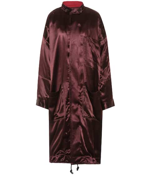 Haider Ackermann Mantel aus Satin