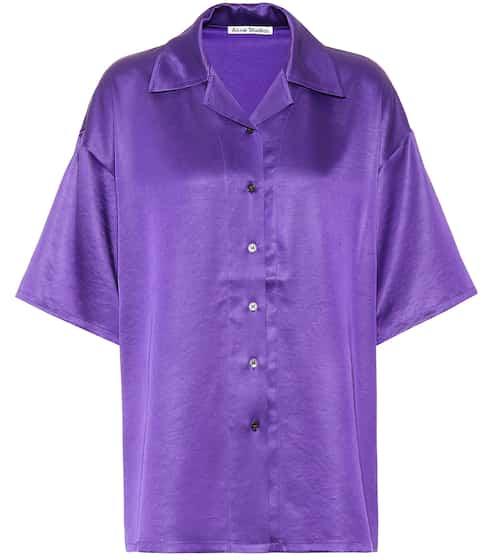 아크네 스튜디오 Acne Studios Satin shirt