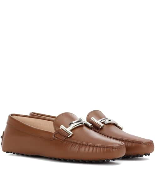 Tod's Loafers Gommino aus Leder