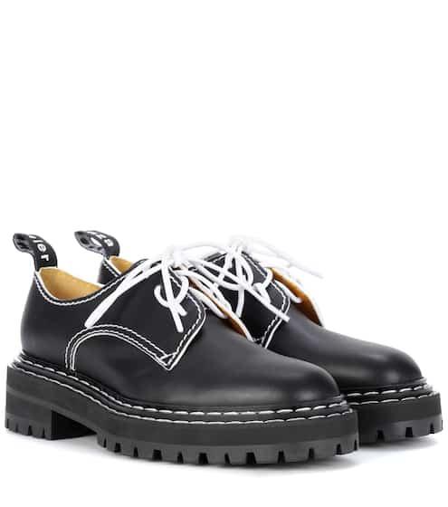 Proenza Schouler Schnürschuhe aus Leder