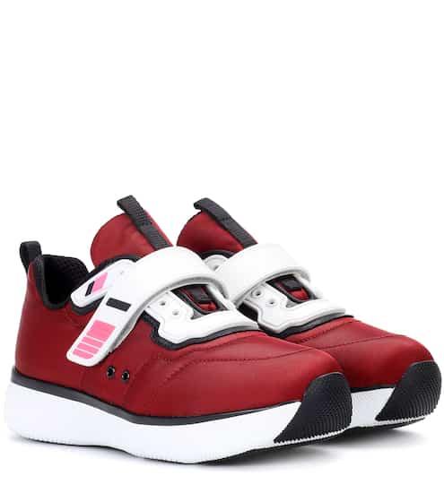 Prada Sneakers mit Plateausohle