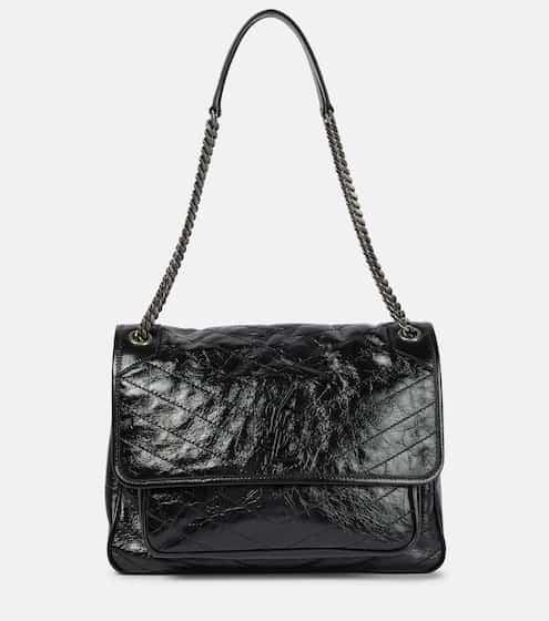5f611152afe4 Saint Laurent Niki Large Leather Shoulder Bag from mytheresa - Styhunt