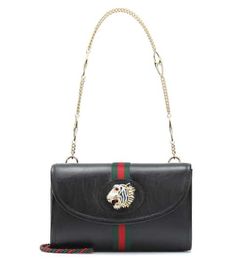 c63f019cb7d89 Rajah Small leather shoulder bag
