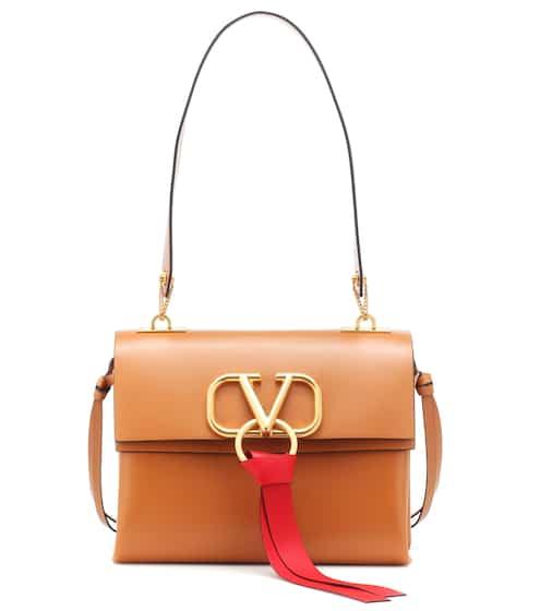 01a7c3d432c Valentino Garavani VRING Small leather shoulder bag | Valentino