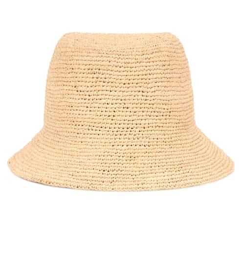 구찌 버킷햇 Gucci Raffia bucket hat