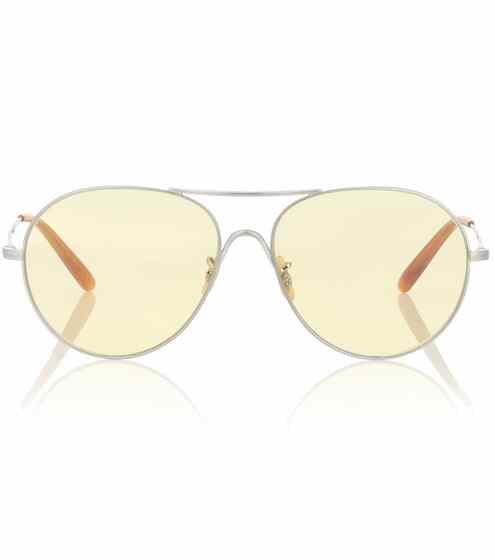 Oliver Peoples Aviator-Sonnenbrille Rockmore