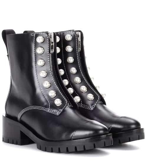 3.1 Phillip Lim Ankle Boots Hayett aus Leder