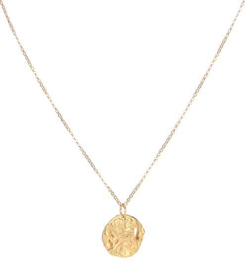 알리기에리 목걸이 (24K 도금, 핸드메이드, 메이드 인 잉글랜드) Alighieri Collier Year of the Dog 24kt gold-plated necklace