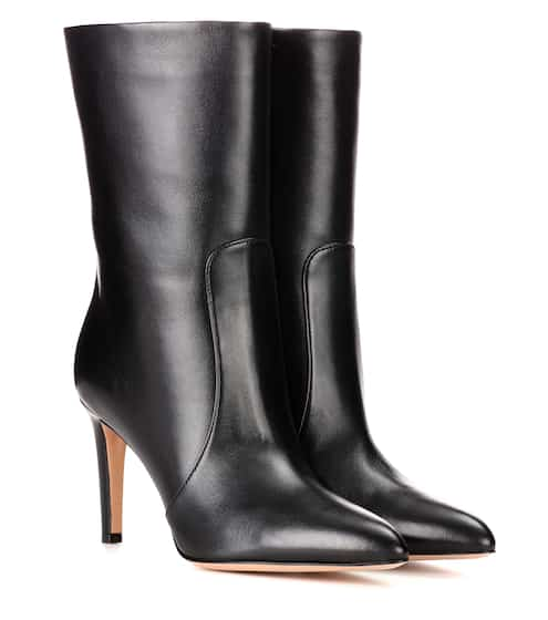 Gianvito Rossi Ankle Boots Dana aus Leder
