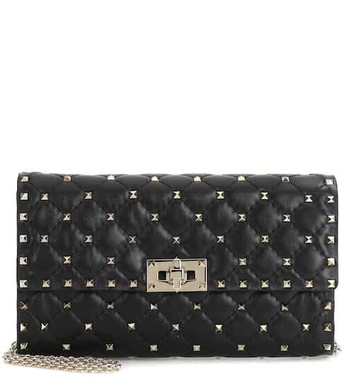 발렌티노 Valentino Garavani Rockstud Spike leather shoulder bag