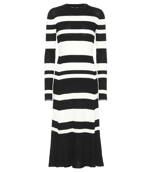 Proenza Schouler Kleid mit Wolle, Seide und Cashmere