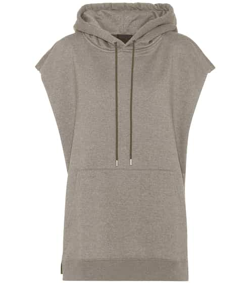ATM Anthony Thomas Melillo Hoodie mit Cape-Optik