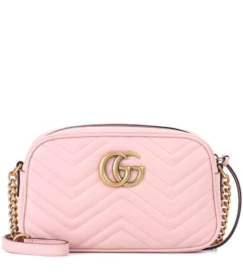 ee2fa2c90669a GG Marmont leather crossbody bag