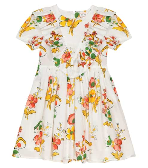 Nova floral cotton dress by Morley, available on mytheresa.com for $165 Kylie Jenner Top SIMILAR PRODUCT