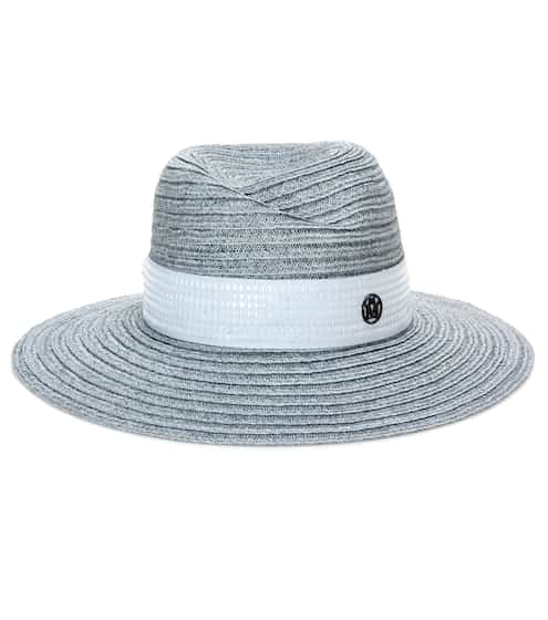 Maison Michel Virginie straw fedora This season's top Picks