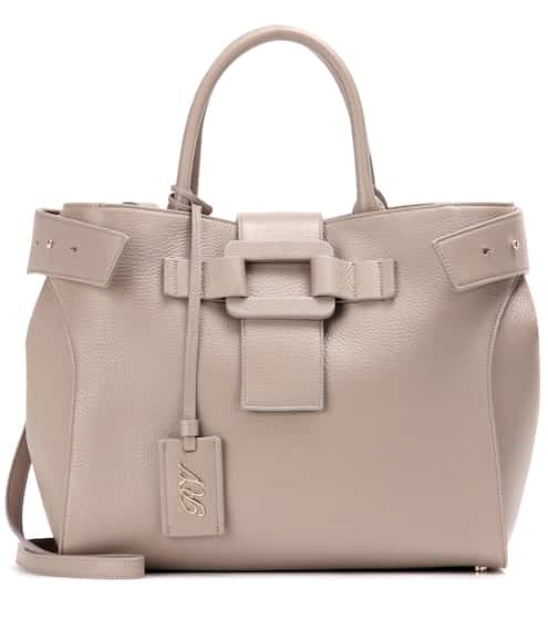 8f6c923a06 Roger Vivier Pilgrim De Jour Medium Leather Tote