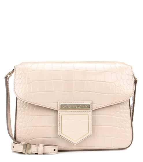 e5ceef458ba5 Givenchy Nobile Small Embossed Leather Shoulder Bag