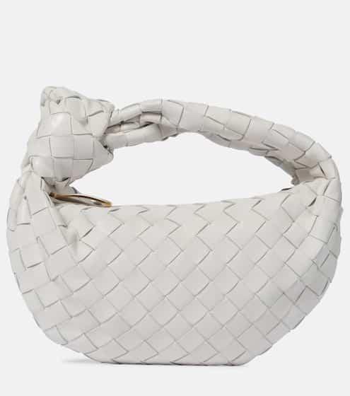 BV Jodie Mini leather tote by Bottega Veneta, available on mytheresa.com for $1620 Natasha Oakley Bags Exact Product