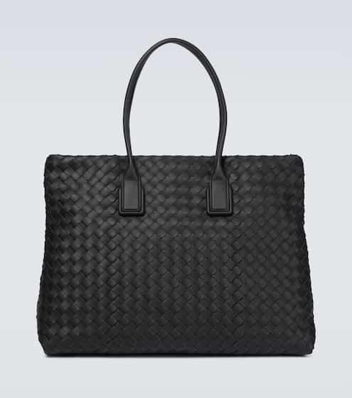 보테가 베네타 토트백 Bottega Veneta Snap leather tote bag