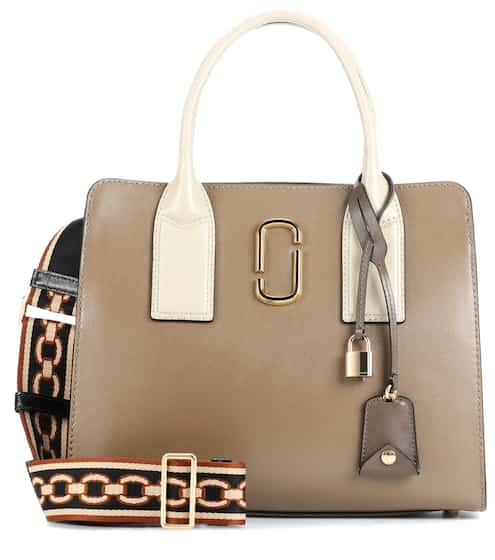Marc Jacobs Tote Big Shot aus Leder