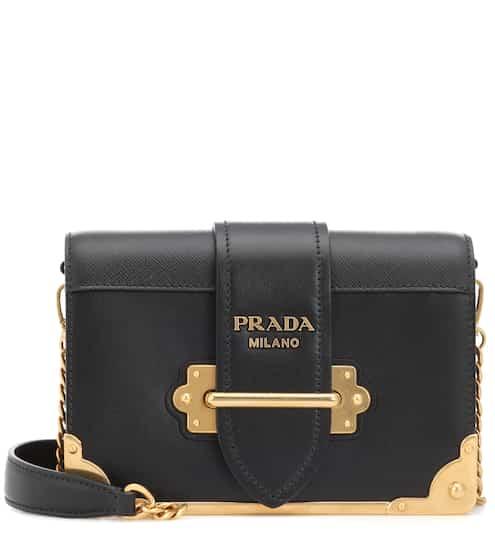 735bbdb90054 ... coupon cahier leather shoulder bag prada d3819 aeae0