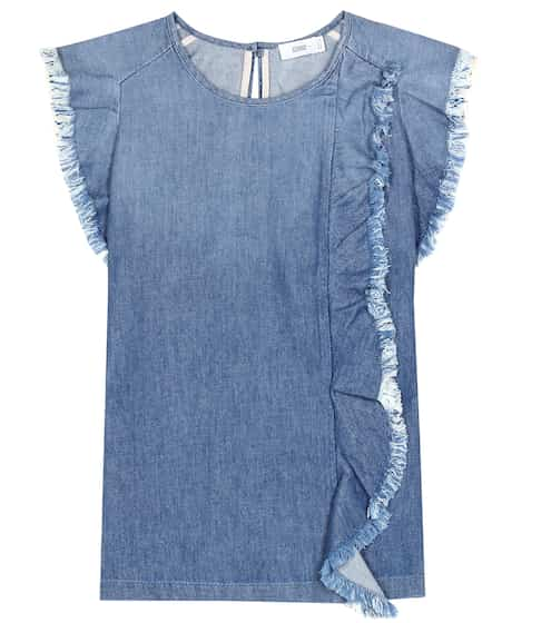 Closed Top aus Baumwoll-Denim